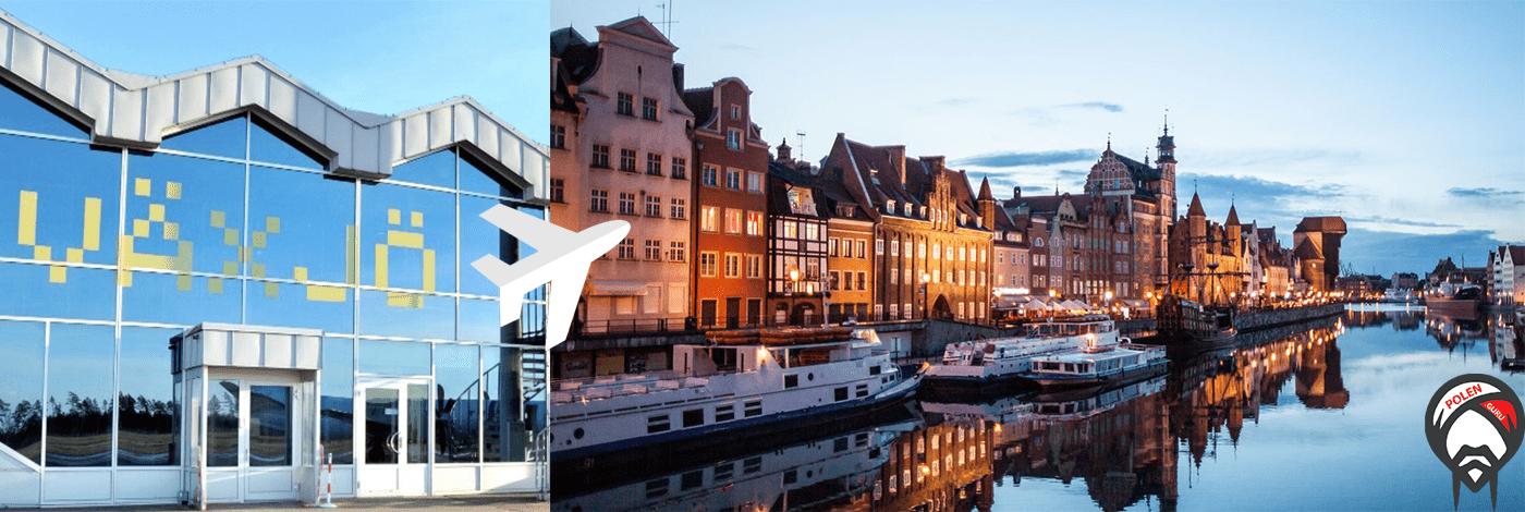 Flyg mellan Växjö och Gdansk