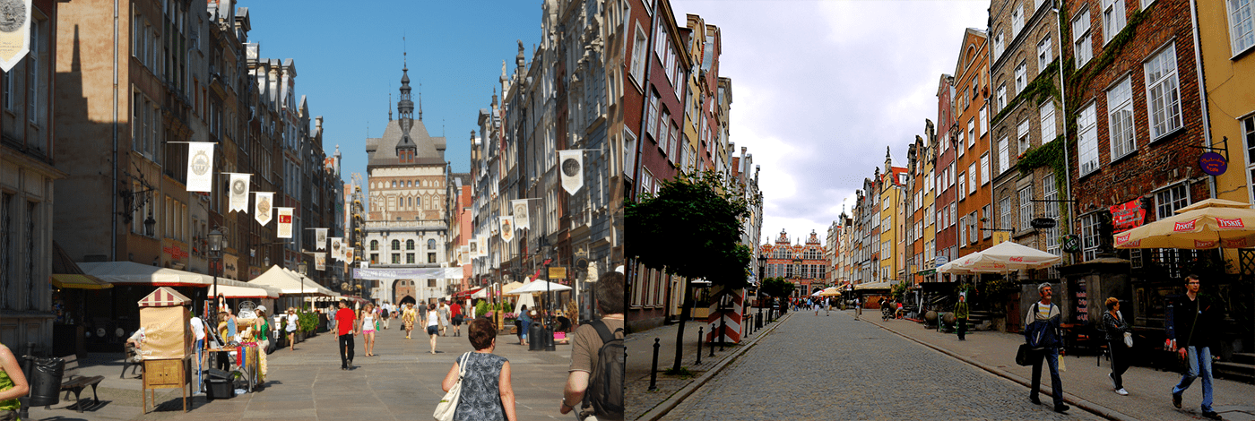Kungsleden i Gdansk