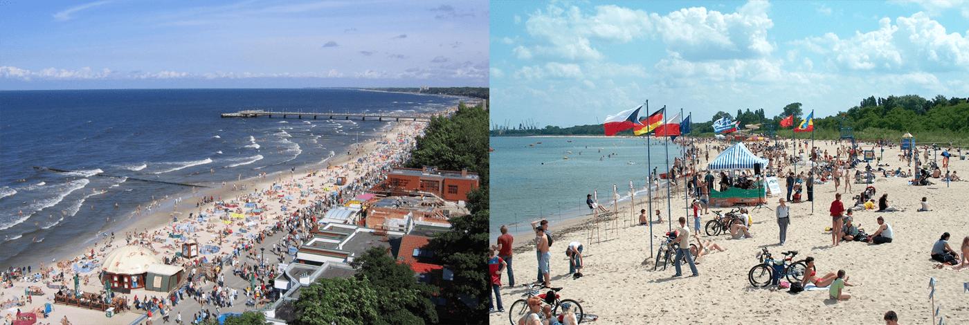 Gdansk strand